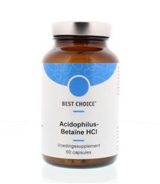Afbeeldingen van Best Choice Acidophilus betaine HCL