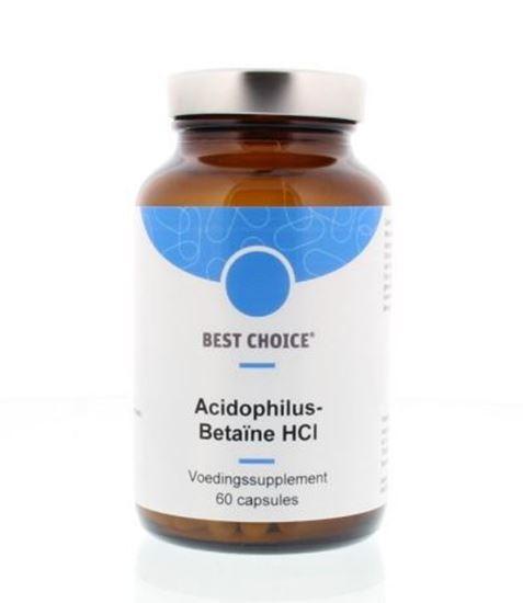 Afbeelding van Best Choice Acidophilus betaine HCL