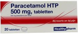 Afbeeldingen van Healthypharm Paracetamol 500mg 20tb