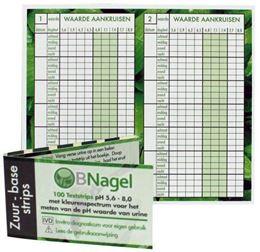 Afbeeldingen van BNagel pH-waarde teststrip 100st