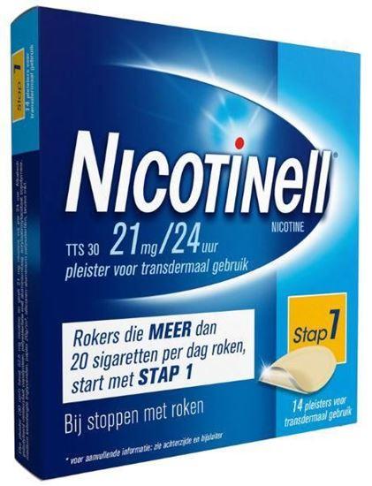Afbeelding van Nicotinell pleisters TTS30 21mg 14st