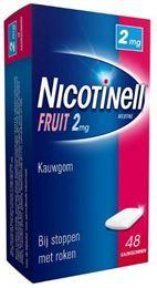 Afbeeldingen van Nicotinell kauwgom Fruit 2mg 48st