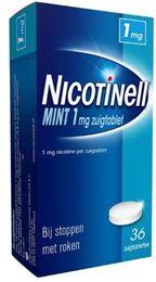 Afbeeldingen van Nicotinell Mint 1mg zuigtablet 36tb