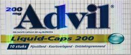 Afbeeldingen van Advil Liquid Caps 200 10caps