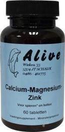 Afbeeldingen van Alive Calcium magnesium zink