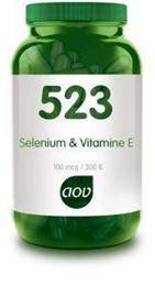 Afbeeldingen van AOV 523 Selenium 100 mcg / vitamine E 300IE