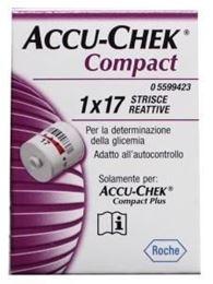 Afbeeldingen van Accu-Chek Compact Plus teststrip 17st