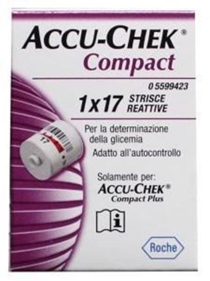 Afbeelding van Accu-Chek Compact Plus teststrip 17st