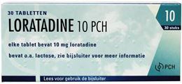 Loratadine Pch 10mg 30tb