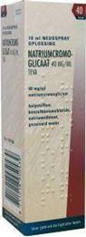 Afbeeldingen van Teva cromoglicaatspray 40mg/ml 10ml