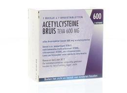 Acetylcysteine Pch 600mg 7tb