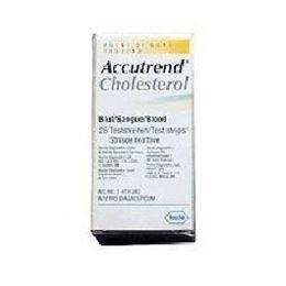 Afbeeldingen van Accu-Chek Aviva cholesterol teststrip 25st