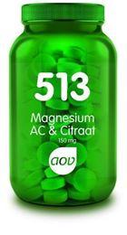 Afbeeldingen van AOV 513 Magnesium AC & Citraat 150 mg