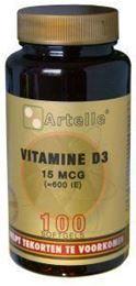 Afbeeldingen van Artelle Vitamine D3 15 mcg