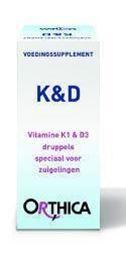 Afbeeldingen van Orthica Vitamine K & D zuigeling