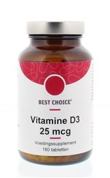 Afbeeldingen van Best Choice Vitamine D3 25 mcg