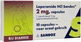 Afbeeldingen van Sandoz loperamide 2mg 10caps