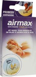 Afbeeldingen van Airmax Snurkers probeerverpakking s+m 2st