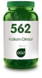 Afbeeldingen van AOV 562 Kalium citraat 200 mg