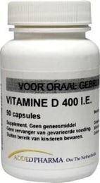 Afbeeldingen van Added Pharma Vitamine d 400ie los