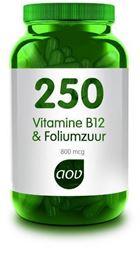 Afbeeldingen van AOV 250 Vitamine B12 & foliumzuur