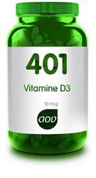 Afbeeldingen van AOV 401 Vitamine D 10 mcg