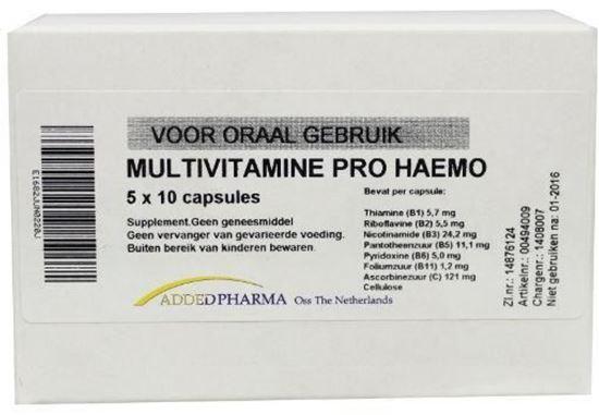 Afbeelding van Added Pharma Multivitamine pro haemo