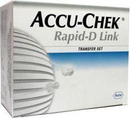 Afbeeldingen van Accu-Chek Rapid-D slang 20cm 10st