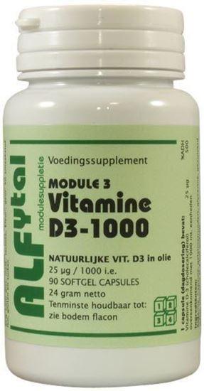 Afbeelding van Alfytal Vitamine D3-1000