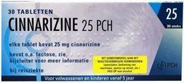 Cinnarizine Pch 25mg 30tb