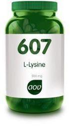 Afbeeldingen van AOV 607 L-Lysine 500 mg
