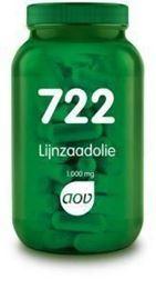 Afbeeldingen van AOV 722 Lijnzaadolie 1000 mg