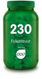 Afbeeldingen van AOV 230 Foliumzuur 400 mcg