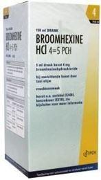 Afbeeldingen van Teva Broomhexine HCL 4 4=5 0.8 mg