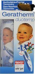 Afbeeldingen van Geratherm Oor- en voorhoofdthermometer blauw