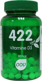 Afbeeldingen van AOV 422 Vitamine D3 50 mcg