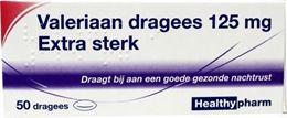 Afbeeldingen van Healthypharm Valeriaan extra sterk 125 mg