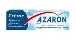 Afbeeldingen van Azaron crème - verlicht pijn na insectenbeet - 10g