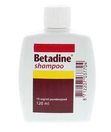 Afbeeldingen van Betadine Shampoo 75mg/ml 120ml