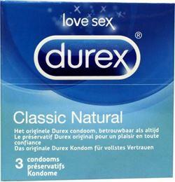Afbeeldingen van Durex Classic natural 3st