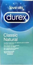 Afbeeldingen van Durex Classic natural 12st