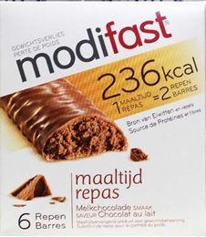Afbeeldingen van Modifast Intensive Lunchreep Melkchocolade 6x31g