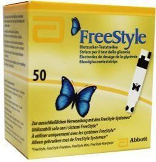 Afbeelding van Freestyle ADC glucose teststrips 50st