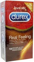 Durex Real feeling (latexvrij) 10st