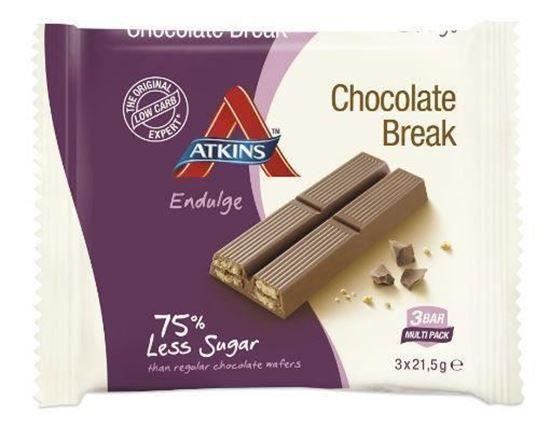 Atkins Endulge Chocolate Break Reep 3x21g