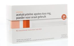 Apotex Acetylcysteine 600mg 30st