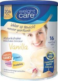 Weight Care Maaltijdshake Vanille 324g