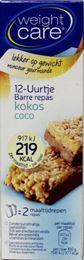 Weight Care Maaltijdreep Kokos 2st