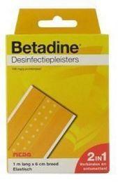 Betadine Desinfectiepleisters 1m x 6cm