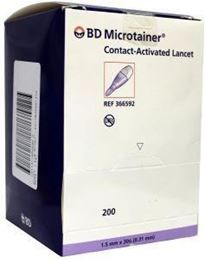 BD Microtainer cal lancetten 200st